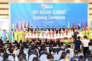 Những hình ảnh về lễ khai mạc Hội nghị Cấp cao ASEAN lần thứ 36