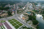 [Photo] Thành phố Yên Bái đổi thay từng ngày sau 120 năm thành lập