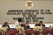 [Photo] Khoảnh khắc Việt Nam gia nhập ngôi nhà chung ASEAN