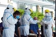 [Photo] Đà Nẵng xét nghiệm COVID-19 cho người nước ngoài tại Sơn Trà