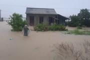 [Photo] Mưa lũ nhấn chìm nhiều khu vực tại tỉnh Quảng Trị