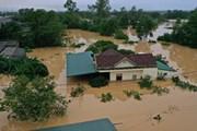 [Photo] Lũ lớn trên các sông gây ngập diện rộng ở Quảng Trị