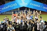 [Photo] Viettel đăng quang ngôi vô địch quốc gia LS V-League 2020