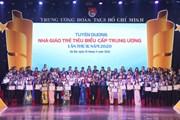 [Photo] Tuyên dương 99 nhà giáo trẻ tiêu biểu cấp Trung ương