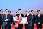 Thủ tướng dự Lễ tuyên dương học sinh THPT đoạt giải Olympic quốc tế