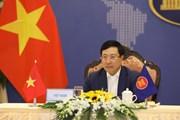 PTT, Bộ trưởng Phạm Bình Minh dự hội nghị khởi động Năm ASEAN 2021