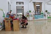 [Photo] Trường học ở Hải Dương đóng cửa để phòng, chống dịch COVID-19