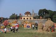 [Photo] Cảm nhận không khí Tết Việt xưa tại Hoàng Thành Thăng Long
