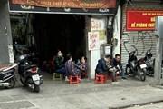 Một số hàng quán ở Hà Nội lơ là, chủ quan trong phòng, chống dịch