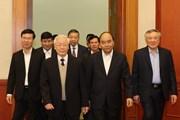 [Photo] Gặp mặt thân mật các nguyên lãnh đạo không tái cử khóa XIII