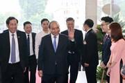 [Photo] Thủ tướng dự lễ kỷ niệm 70 năm Ngày báo Nhân Dân ra số đầu