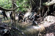[Photo] Theo bước chân đội tuần tra bảo vệ rừng ở Khu bảo tồn Sao La