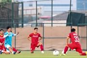 [Photo] Đội tuyển Việt Nam luyện tập sẵn sàng cho trận gặp UAE