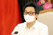 Phó Thủ tướng chủ trì họp về nhập khẩu, sản xuất và tiêm vaccine