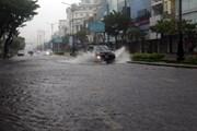 Hình ảnh bão số 5 gây mưa lớn, gió giật tại thành phố Đà Nẵng