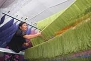 [Photo] Đặc sản bún khô ngũ sắc thu hút du khách đến Cao Bằng