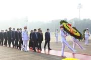 Lãnh đạo Đảng, Nhà nước, đại biểu Quốc hội viếng Chủ tịch Hồ Chí Minh