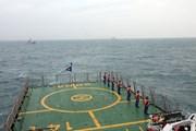 [Photo] Tuần tra liên hợp giữa cảnh sát biển Việt Nam và Trung Quốc
