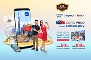Cơ hội trúng tivi cho chủ thẻ NAPAS khi thanh toán bằng Samsung Pay