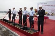 Cất nóc dự án thành phố giáo dục quốc tế IEC Quảng Ngãi