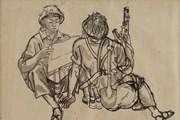 Những tác phẩm tiêu biểu tại triển lãm 'Ký ức Đường Trường Sơn'