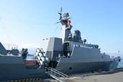 Tàu chiến hiện đại của Việt Nam thăm chính thức Singapore