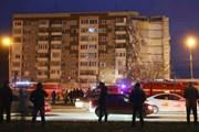 Nga: Sập nhà chung cư tại thành phố Izhevsk có thể do nổ khí gas