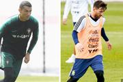 Cristiano Ronaldo và Lionel Messi mơ... ghi bàn tại World Cup 2018