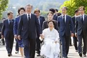 Tỷ lệ ủng hộ Tổng thống Hàn Quốc Moon Jae-in giảm xuống còn 56%