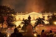 Hàng trăm cổ vật Ai Cập bị hư hại trong vụ cháy bảo tàng Brazil