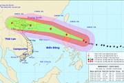 Hoàn lưu bão Mangkhut gây mưa rất to cho Bắc Bộ, Bắc Trung Bộ từ 17/9