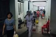Bộ trưởng Y tế thăm bệnh nhi bị ảnh hưởng vụ cháy gần Bệnh viện Nhi