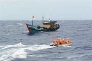 Cà Mau nỗ lực tìm kiếm 6 thuyền viên bị mất tích trên biển