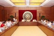 Ủy ban Pháp luật của Quốc hội họp thẩm tra nhiều dự thảo quan trọng
