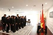 Australia treo cờ rủ tưởng niệm Chủ tịch nước Trần Đại Quang
