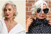 """Fashionista 53 tuổi Ghanem: """"Tuổi tác không quyết định phong cách"""""""