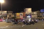 [Video] TP. HCM: Ôtô đâm hàng loạt xe máy, một người tử vong