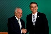 Tổng thống Brazil thảo luận tiến trình chuyển giao quyền lực