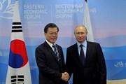 Tổng thống Hàn Quốc và Nga hội đàm song phương tại Singapore