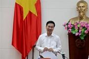 Trưởng ban Tuyên giáo Trung ương làm việc với Tạp chí Cộng sản