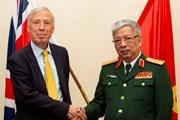 Hợp tác quốc phòng Việt-Anh giúp củng cố hòa bình khu vực, thế giới