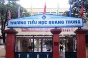 [Video] Tát học sinh ở Đống Đa: Trường Tiểu học Quang Trung họp báo