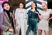 Phong cách matchy-matchy thống trị street style tuần lễ đầu năm