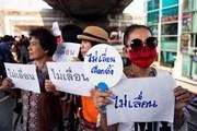 Thái Lan: Các nhà hoạt động dân chủ biểu tình phản đối trì hoãn bầu cử