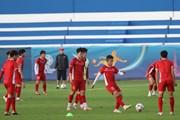 Đội tuyển Việt Nam không được làm quen sân thi đấu Al Maktoum