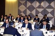 [Photo] Thủ tướng tiếp một số tập đoàn, nhà đầu tư lớn Nhật Bản