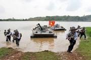 [Photo] Hải quân đánh bộ - lực lượng tinh nhuệ của hải quân Việt Nam