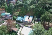 [Photo] Hàng loạt nhà không phép mọc giữa rừng thông tại Đà Lạt