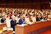 [Photo] Quang cảnh phiên khai mạc Kỳ họp thứ Tám, Quốc hội khóa XIV