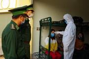 [Photo] Điện Biên tiếp nhận gần 900 công dân từ nước ngoài trở về